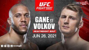 UFC Gane vs Volkov apuestas predicciones