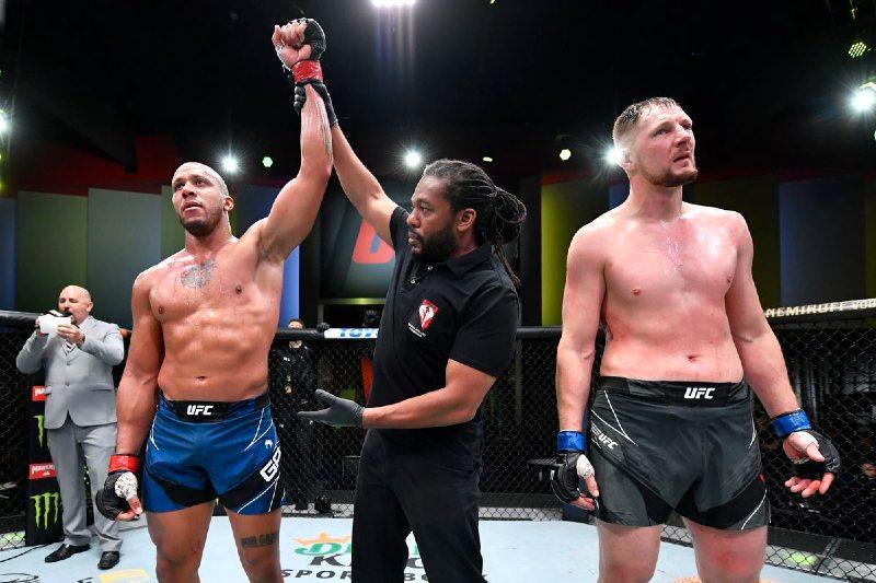 UFC Gane vs Volkov predicciones acertadas