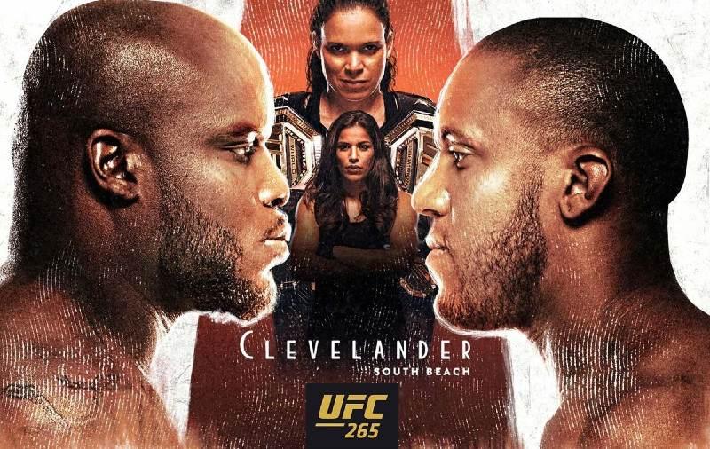 UFC 265 Lewis vs Gane