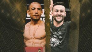 UFC 265 Aldo vs Munhoz co-main event