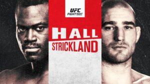 ufc apuestas Hall vs Strickland