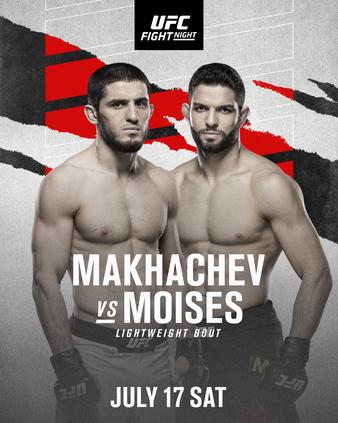 apuestas ufc Makhachev vs Moises.