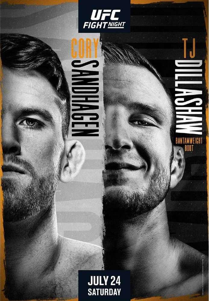 Apuestas UFC Sandhagen vs Dillashaw