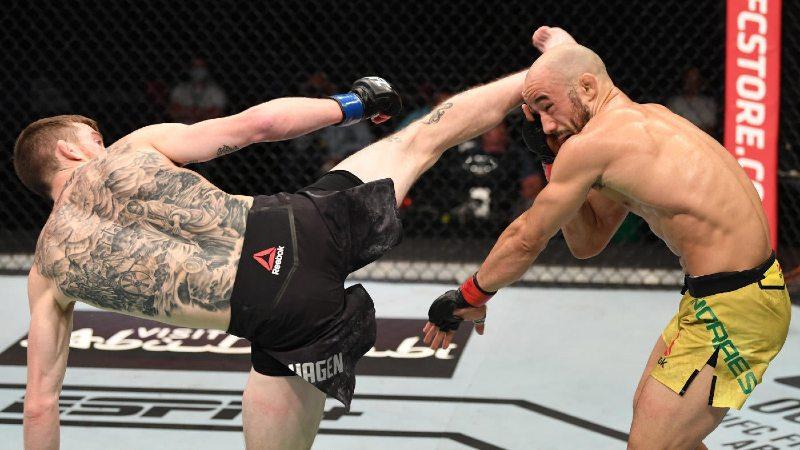 Sandhagen vs Moraes