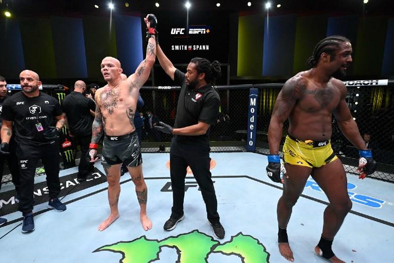 apostas UFC Smith vs Spann